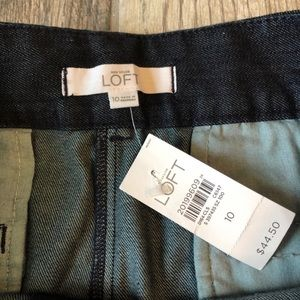 "LOFT Shorts - LOFT Riviera Denim Shorts 5"" inseam"